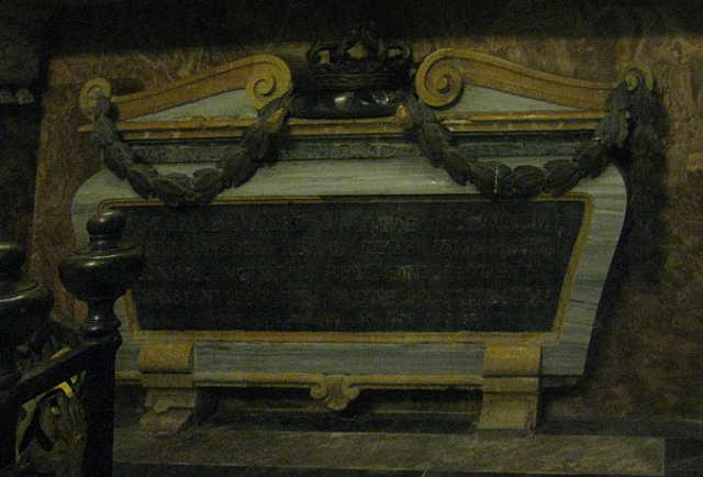 Tomb of Anne Marie d'Orleans