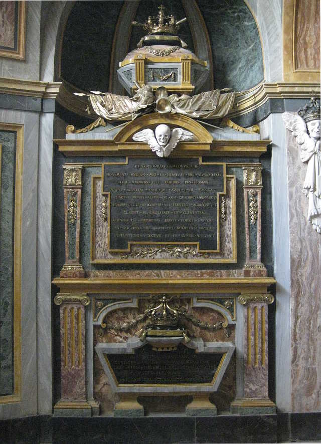 Tomb of King Victor Amadeus III of Sardinia